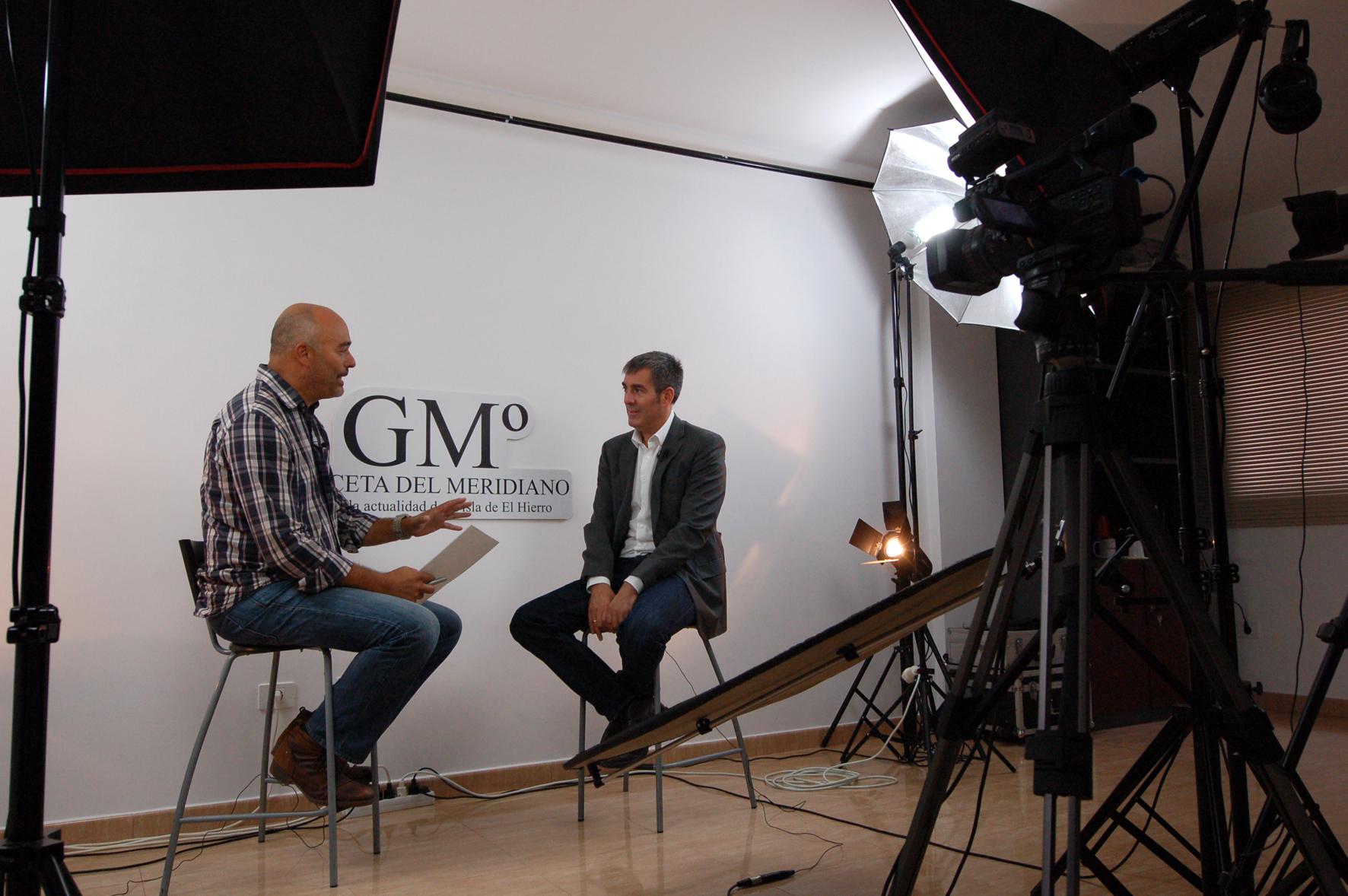 La Entrevista con Fernando Clavijo