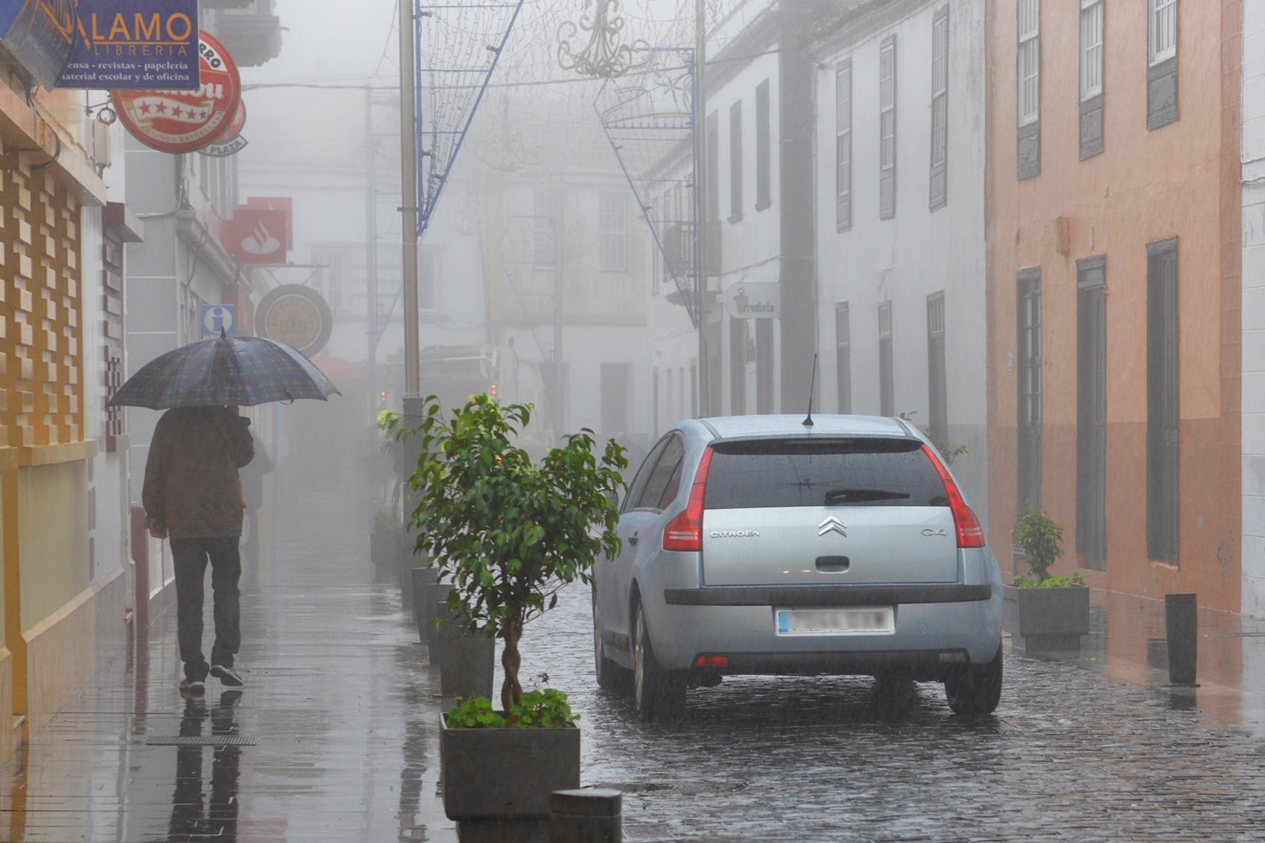 Viento y lluvia para los próximos días