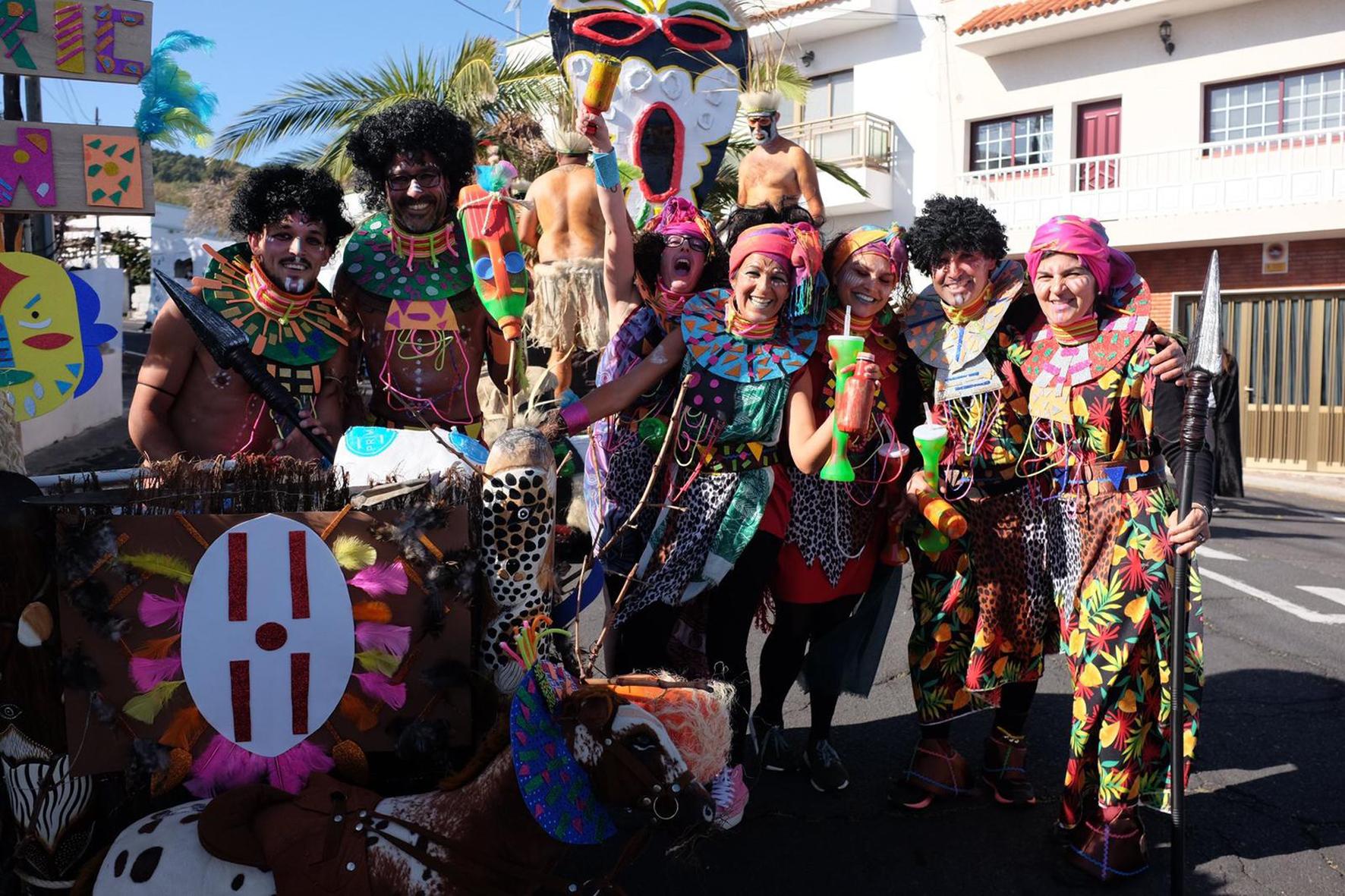 """Resultado de imagen de """"Las épocas"""", tema del Carnaval de El Pinar de El Hierro 2020"""