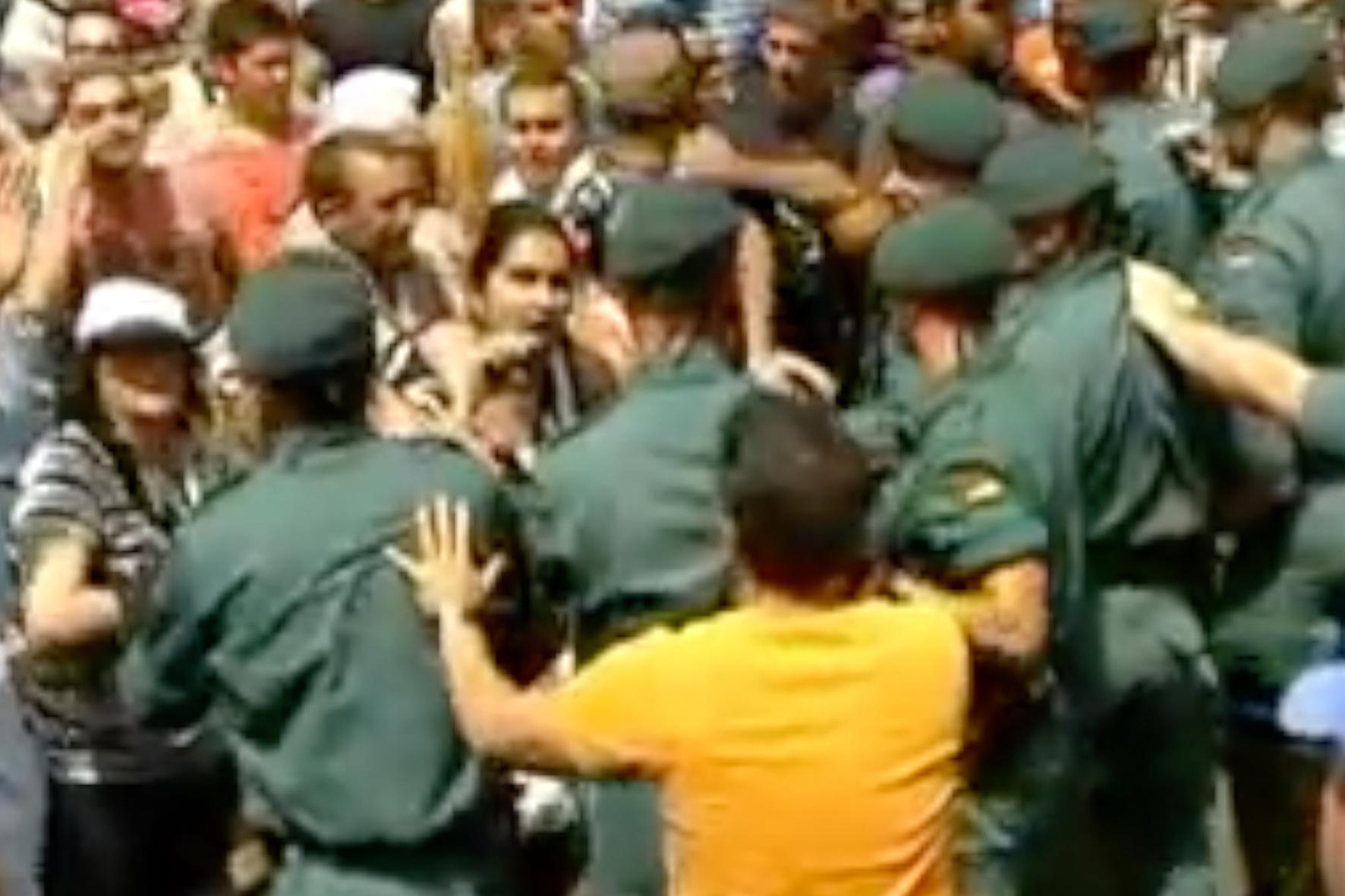 El juicio por los incidentes de la Bajada de 2009 se celebrará en diciembre