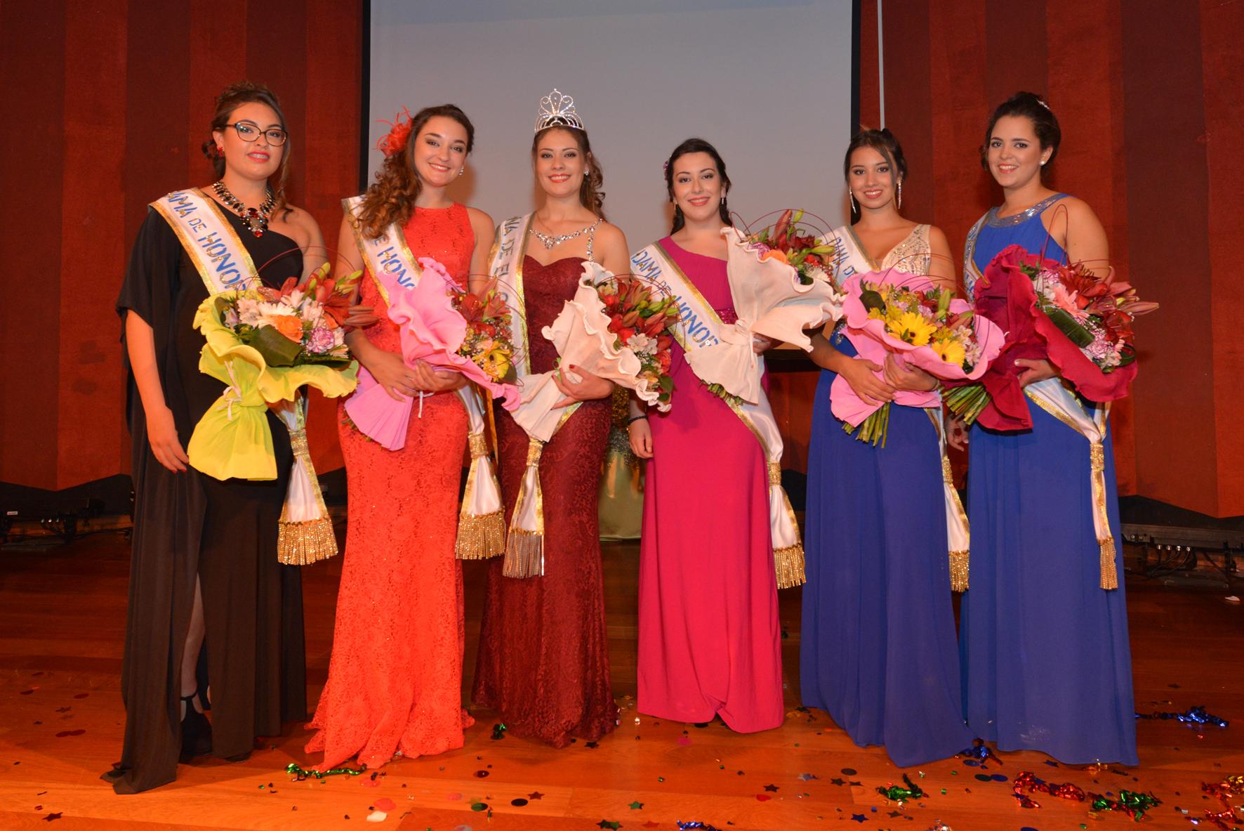 Lorena Gaspar elegida Reina de El Cabo 2017
